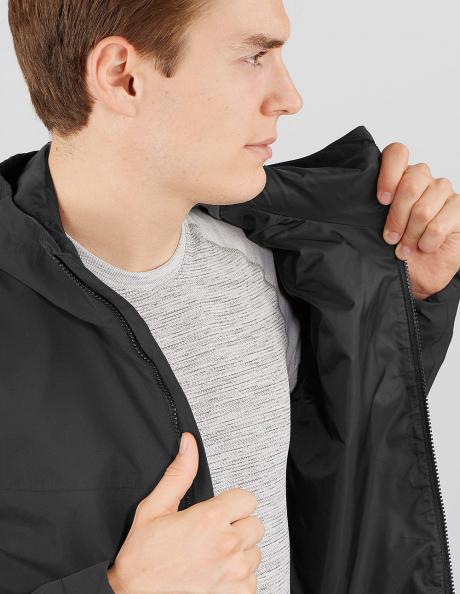 SALOMON Куртка мужская EXPLORE WATERPROOF 2L Black Артикул: LC1267600