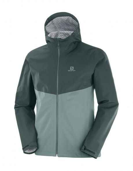 SALOMON Куртка мужская LA COTE FLEX 2.5L Green/Balsam Green Артикул: LC1275500