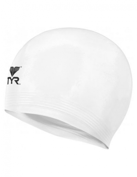 TYR Шапочка для плавания Latex Swim Cap Артикул: LCL