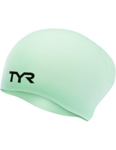 TYR Шапочка для плавания Long Hair Wrinkle-Free Silicone Cap Артикул: LCSL