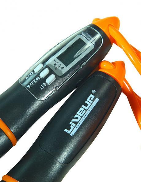 LIVEUP Скакалка с электронным счетчиком DIGITAL JUMP ROPE Артикул: LS3128