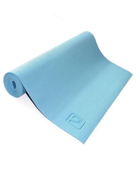 LIVEUP Коврик для йоги PVC Blue 4 мм Артикул: LS3231-04b