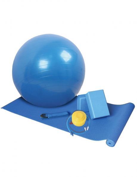 LIVEUP Набор для йоги YOGA SET Blue Артикул: LS3243