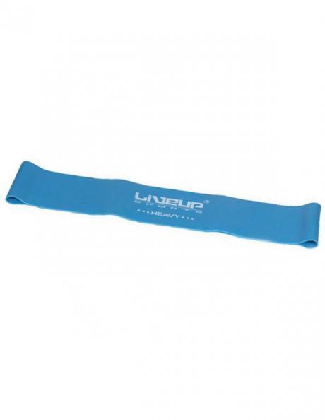 LIVEUP Фитнес-резинка LATEX LOOP HEAVY Blue 50 см Артикул: LS3650-500Hb