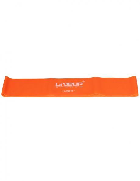 LIVEUP Фитнес-резинка LATEX LOOP LIGHT Orange 50 см Артикул: LS3650-500Lo