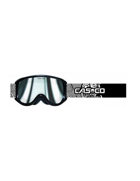CASCO Горнолыжная маска для детей AX-30 PC BLACK-WHITE F1 Артикул: 07.4410.02