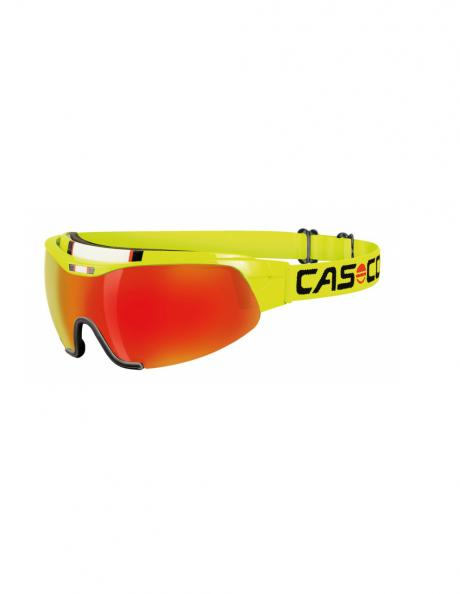 CASCO Лыжные очки SPIRIT CARBONIC NEON YELLOW Артикул: 07.4926