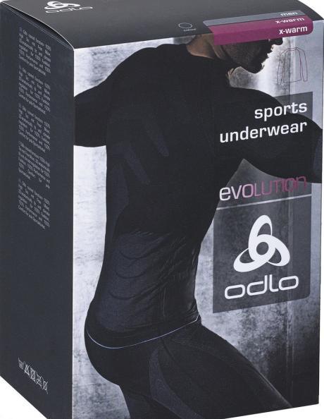 ODLO Футболка с длинным рукавом мужская EVOLUTION X-WARM Артикул: 180962