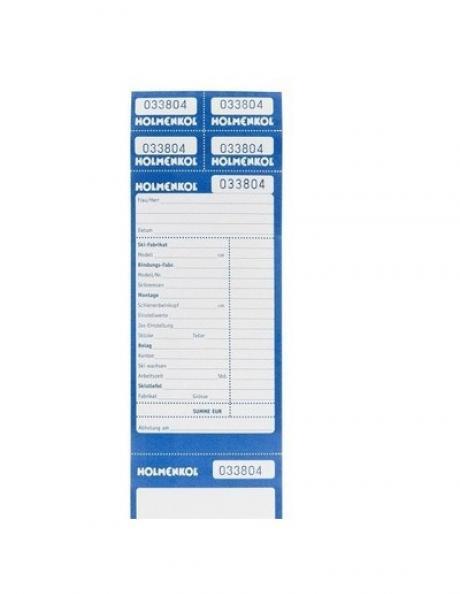 HOLMENKOL Этикетка для сервиса REPAIR CARD, 50 шт Артикул: 20488