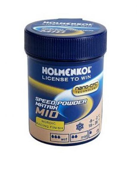HOLMENKOL Порошок гоночный MATRIX SPEED POWDER MID (от -5), 30 г Артикул: 24343-02