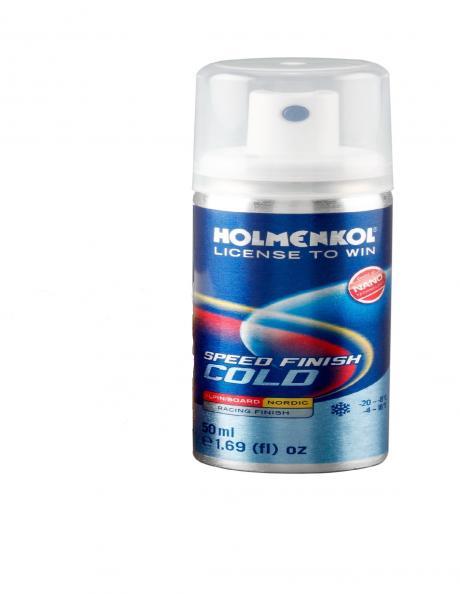 HOLMENKOL Спрей-ускоритель FINISH COLD RACING (0...-4) Артикул: 24365