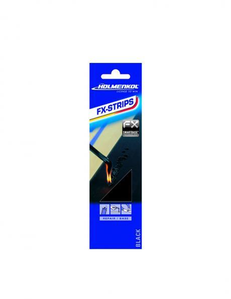 HOLMENKOL Пластик для ремонта базы FXSTRIPS BLACK, 5 шт Артикул: 24401