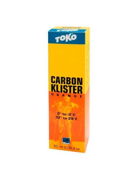 TOKO Мазь держания спрей CARBON оранжевый (0/-2), 60 мл х 6 шт. Артикул: 5508732