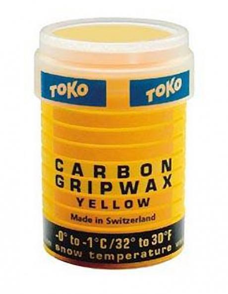 TOKO Мазь держания CARBON жёлтая (0/-1), 32 г Артикул: 5508762