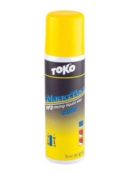 TOKO Мазь скольжения высокофтористая HF2 NANO-TEC (-10/-20), 50 мл Артикул: 5509753