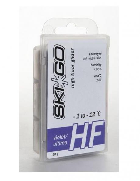 SKIGO Парафин высокофтористый HF для старого снега (-1...-12), 45 г Артикул: 63013