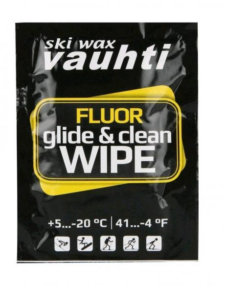 VAUHTI Салфетка набор 15 шт. CLEAN & GLIDE WIPE (+5/-20) Артикул: 70-515