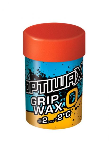 OPTIWAX Мазь держания фтористая GRIPWAX 0 (+2...-2) Артикул: 90000201