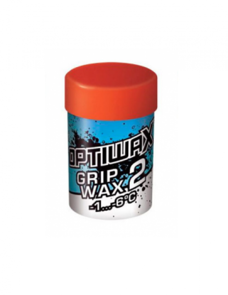 OPTIWAX Мазь держания фтористая GRIPWAX 2 (-1...-6) Артикул: 90002201