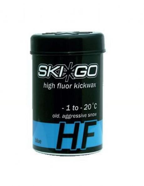 SKIGO Мазь держания LF KICKWAX BLUE (-1...-20), 45 г. Артикул: 90245