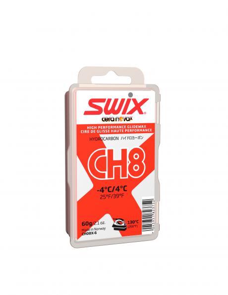 SWIX Мазь скольжения CH8X RED (+4...-4), 60 г Артикул: CH08X-6