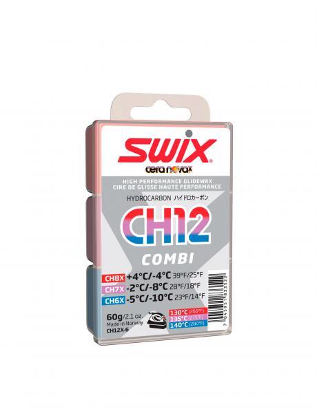SWIX Набор мазей скольжения CH12X COMBI, 3X20 г Артикул: CH12X-6