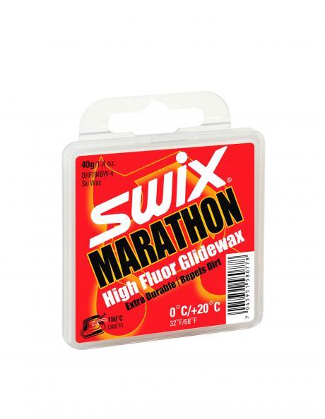 SWIX Мазь скольжения DHF104BW WHITE MARATHON (0...+20), 40 г Артикул: DHF104BW-4