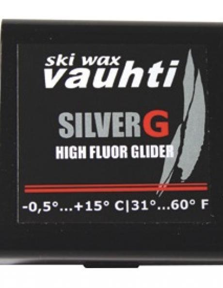 VAUHTI Прессовка фторовая SILVER (-1/+15), 20 г. Артикул: F105