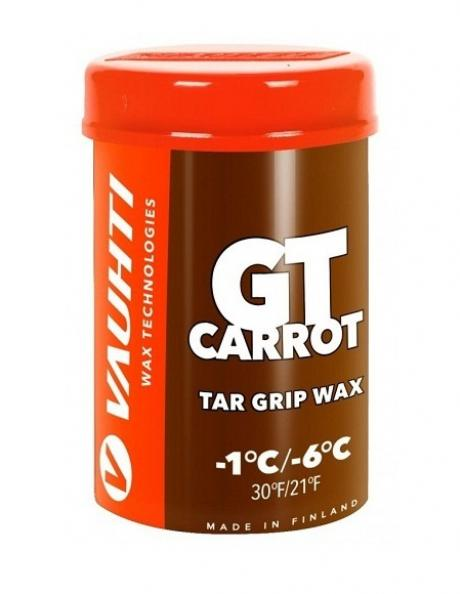 VAUHTI Мазь держания смоляная GT CARROT (-1/-6), 45 г Артикул: GTC
