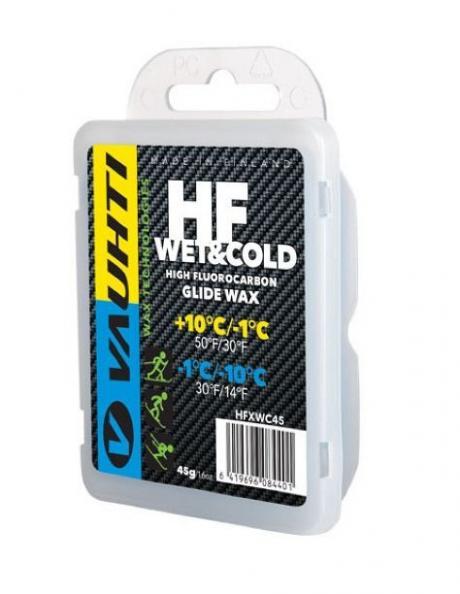 VAUHTI Парафин высокофтористый HF MIX WET & COLD, 45 г Артикул: HFWC45