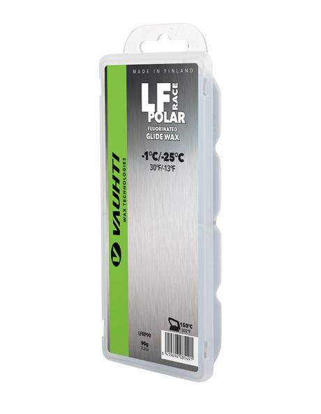 VAUHTI Парафин низкофтористый LF RACE POLAR (-1/-25), 90 г Артикул: 344-LFRP90