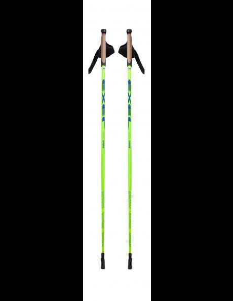 EXEL Палки для ходьбы NORDIC TRAINER ALIS YELLOW/BLUE Артикул: NWP15020