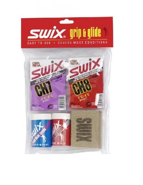 SWIX Набор лыжный универсальный KICK & GLIDE KIT Артикул: P0048