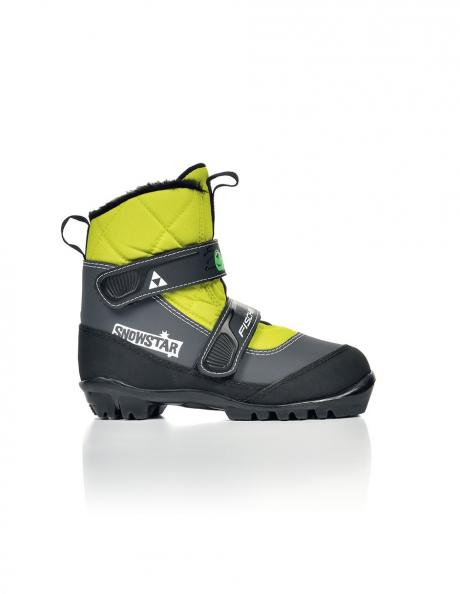 FISCHER Лыжные ботинки SNOWSTAR YELLOW Артикул: S41016