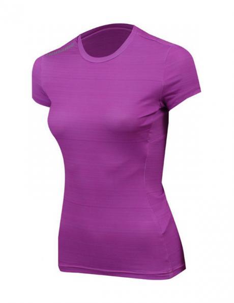 NONAME Футболка женская PRO RUNNING T-SHIRTS 18 WOS ROSE MEL, розовый/темно-розовый Артикул: 2000887