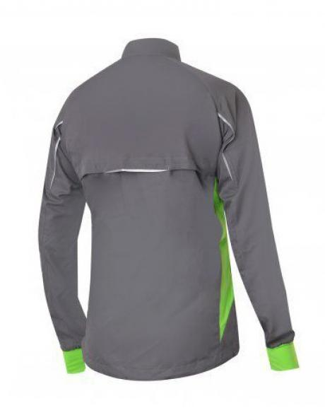NONAME Куртка ROBIGO RUNNING 17 UNISEX Grey/Lime Артикул: ROBIGO RUNNING 17 GRAY