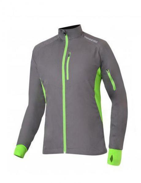 NONAME Куртка ROBIGO RUNNING 17 UNISEX Grey/Lime Артикул: ROBIGO RUNNING 17 GRAY
