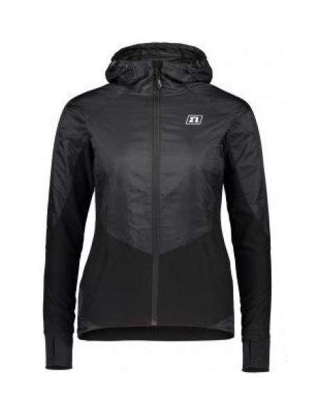 NONAME Куртка женская с капюшоном WINDRUNNER JACKET WOS ветрозащитная, черный Артикул: 100219-2