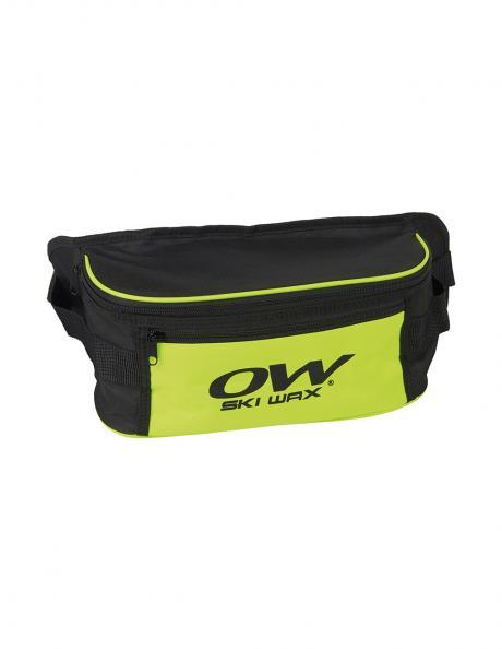 ONE WAY Сумка поясная WAIST BAG SKI WAX BLACK/YELLOW Артикул: OZ10418
