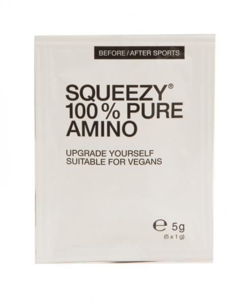SQUEEZY Аминокислоты 100% PURE AMINO 20x5 г Артикул: PU0041