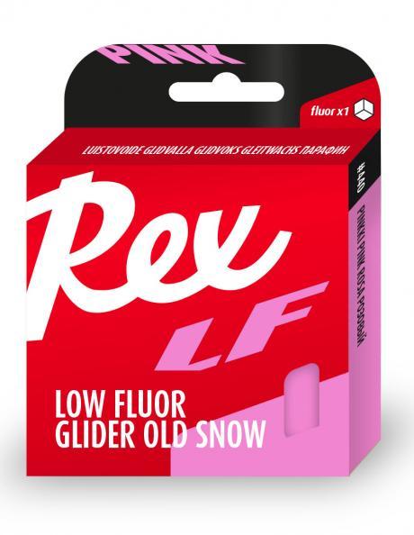 REX Низкофторовый парафин 440 розовый для старого снега(+5/-15),86 г Артикул: rex-18440
