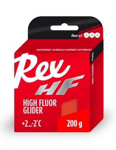 REX Высокофторовый парафин 415 красный, 200 г Артикул: rex-4152