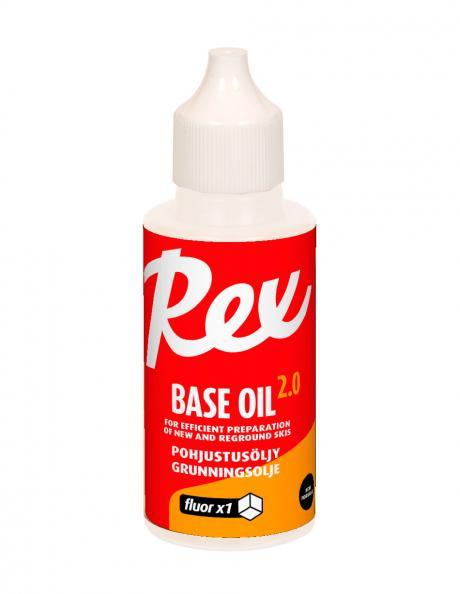 REX Низкофторовая жидкость для базовой подготовки лыж 430 Fluor Base Oil 2.0, 50 мл Артикул: rex-430
