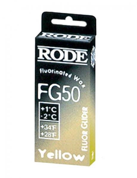 RODE Мазь скольжения фтористая FG50 (+1/-2), 50 г Артикул: FG50