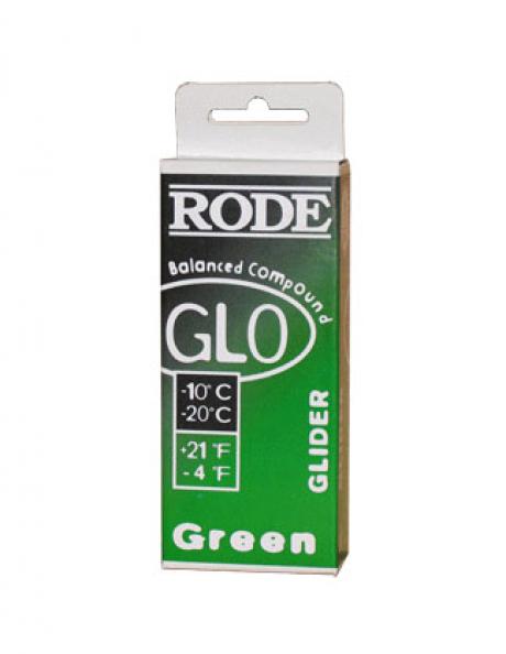 RODE Мазь скольжения GL0 зеленая (-10/-20), 75 г Артикул: GL0