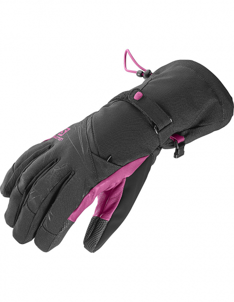 SALOMON Перчатки горнолыжные TACTILE CS W BLACK/MY Артикул: L37597800