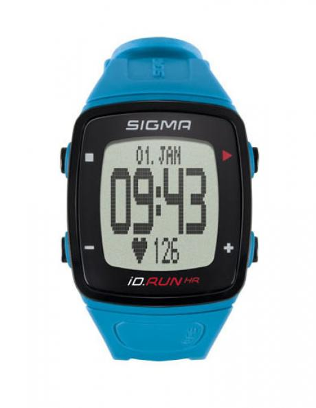 SIGMA Спортивные часы ID.RUN HR PACIFIC BLUE Артикул: SIG24910