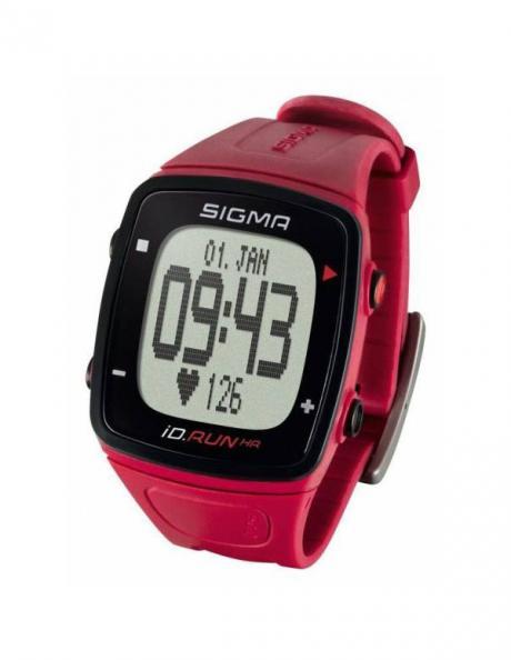 SIGMA Спортивные часы ID.RUN HR ROUGE Артикул: SIG24920