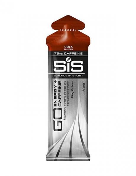 SIS Гель изотонический углеводный с кофеином 75 мг GO ENERGY + CAFFEINE GEL кола, 60 мл Артикул: 5025324022663