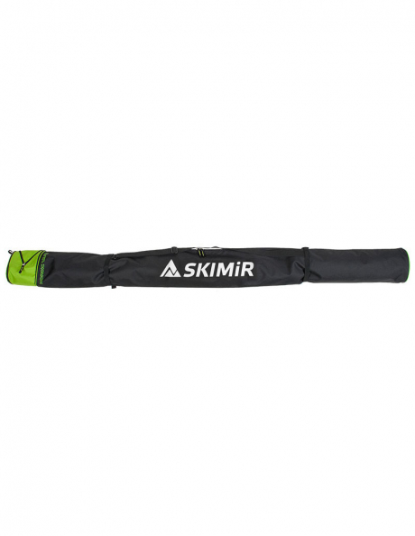 SKIMIR Чехол для лыж NORDIC VARIO black-green, 195-210 см Артикул: 4084-30-D02